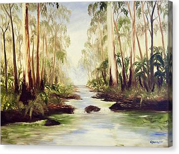 The Buckland River Canvas Print