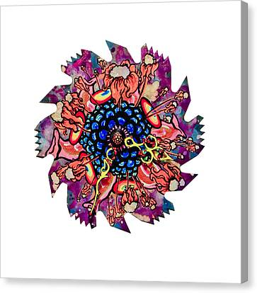 The Bug-blossom Canvas Print by Jessica Sornson