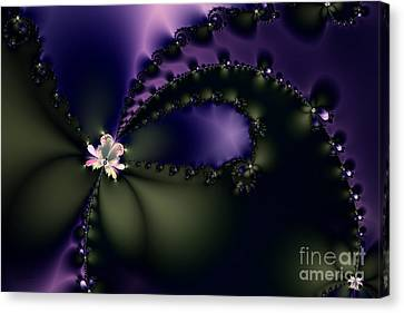 The Butterfly Effect Canvas Print by Wingsdomain Art and Photography