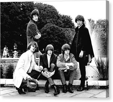 The Byrds 1965 Canvas Print by Chris Walter