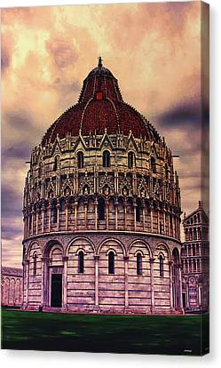 the Campo dei Miracoli - Italy Canvas Print by Tom Prendergast