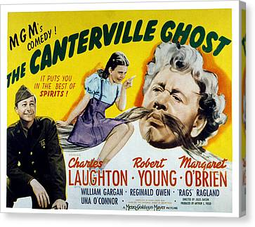 The Canterville Ghost, Robert Young Canvas Print by Everett