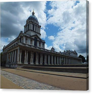 Canvas Print - The Chapel At The Royal Naval College by Anna Villarreal Garbis