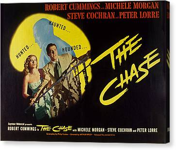 The Chase, Michele Morgan, Peter Lorre Canvas Print