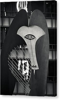 The Chicago Picasso Canvas Print