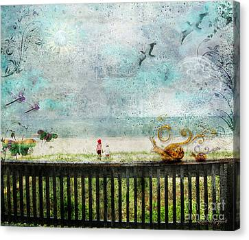 The Child In Us Canvas Print by Rhonda Strickland