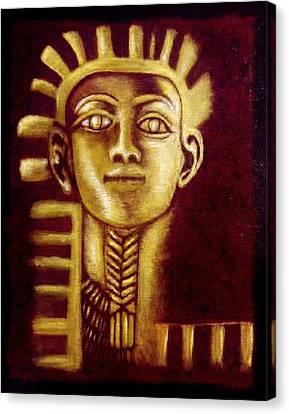 The Child King Tutankhamun Canvas Print