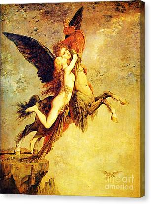 The Chimera Canvas Print by Pg Reproductions