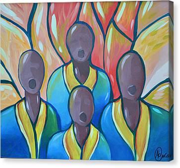 The Choir Canvas Print