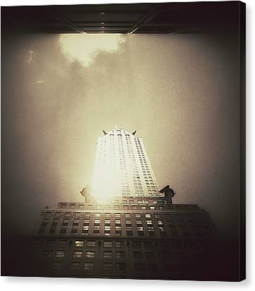 The Chrysler Building - New York City Canvas Print by Vivienne Gucwa