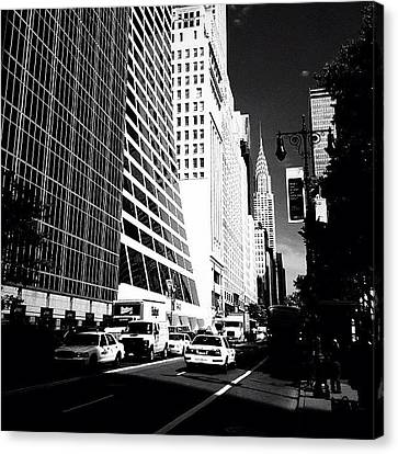 Classic Canvas Print - The Chrysler Building In New York City by Vivienne Gucwa