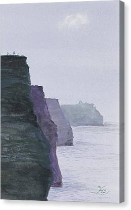 The Cliffs Of Moher Canvas Print