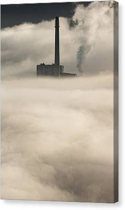 Factory Work Canvas Print - The Cloud Factory by Andy Astbury