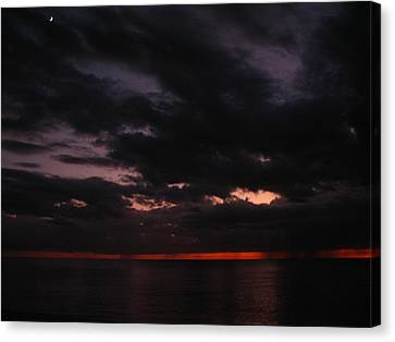 Canvas Print featuring the photograph The Color Of Fear by Bill Lucas