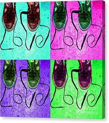 The Color Of Love Canvas Print by Paul Ward