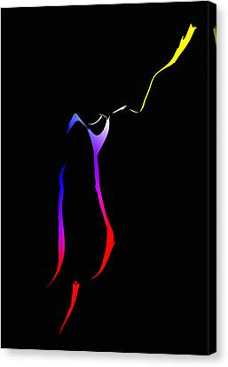 The Color Of Love Canvas Print by Steve K