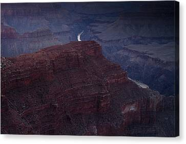 The Colorado River At Hopi Point Canvas Print by Andrew Soundarajan
