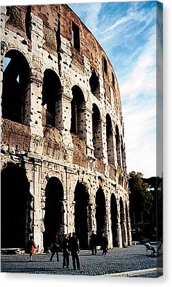 The Colosseum Canvas Print by Donna Proctor
