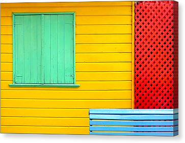 The Colours Of Caminito Canvas Print by by Felicitas Molina