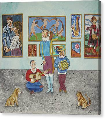 The Concert Canvas Print by John Keaton