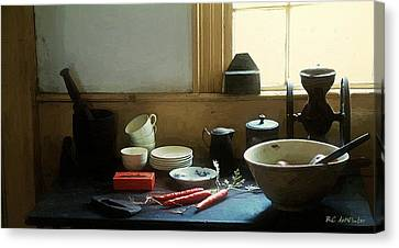 The Cook's Table Canvas Print by RC deWinter