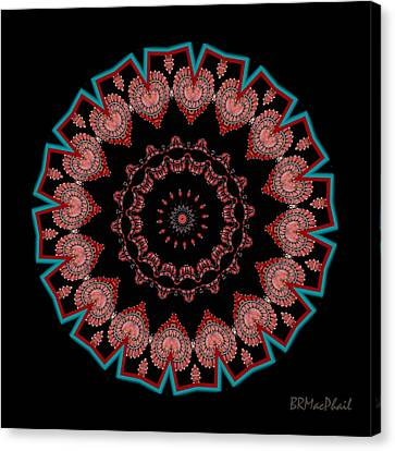 Canvas Print featuring the photograph The Coral Jewel by Barbara MacPhail