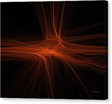Spiritual Being Canvas Print - The Core by Wayne Bonney