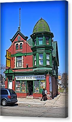 Grocery Store Canvas Print - The Corner Store by Geoff Strehlow