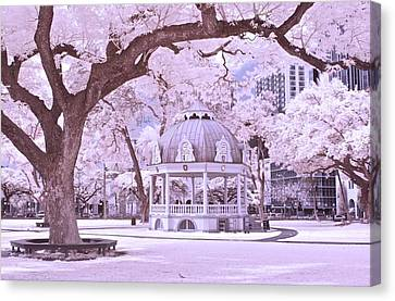 The Coronation Pavilion Canvas Print by James Walsh