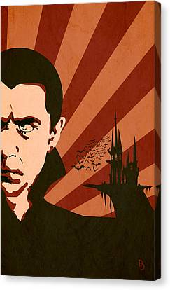 Dracula Canvas Print - The Count by Dave Drake