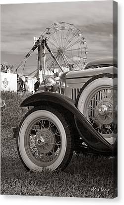 The Country Fair Canvas Print by Robert Lacy
