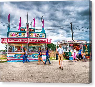 The County Fair Canvas Print