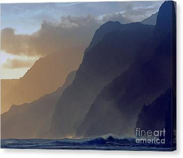 The Cove Canvas Print by Jerry L Barrett