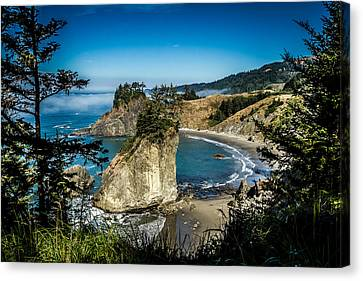 Canvas Print featuring the photograph The Cove by Randy Wood