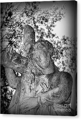 The Cross I Bear Canvas Print by Paul Ward