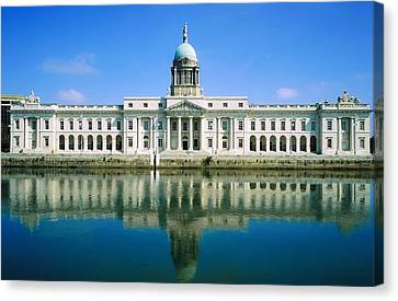 The Custom House, River Liffey, Dublin Canvas Print by The Irish Image Collection