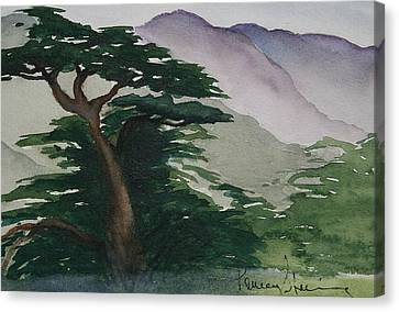 The Cypress Tree Canvas Print