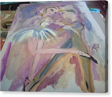 The Dance Canvas Print by Judith Desrosiers