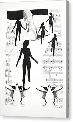 The Dance Canvas Print by Kate Moore
