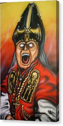 The Dark Bishop Canvas Print by Matt Detmer