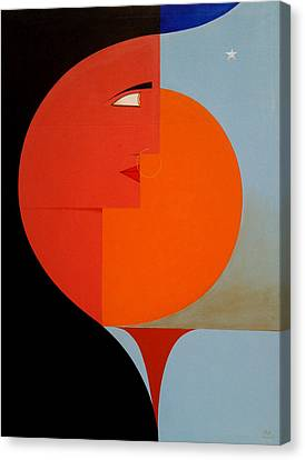 The Dawn Of New Millennium Canvas Print by Mak Art