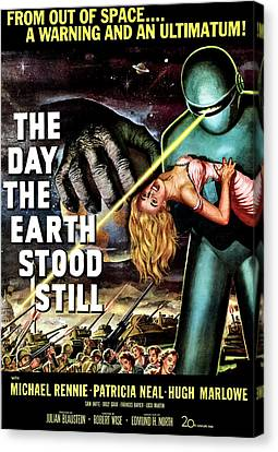 The Day The Earth Stood Still, 1951 Canvas Print by Everett