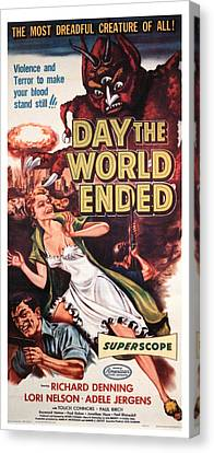 The Day The World Ended, Richard Canvas Print by Everett
