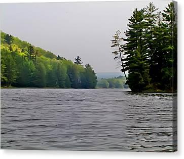 The Delaware River Canvas Print by Bill Cannon