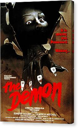 The Demon, Poster Art, 1979 Canvas Print by Everett