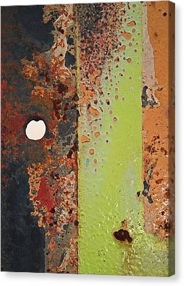 The Dividing Line Canvas Print by Camera Rustica Bill Kerr