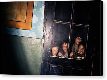 The Door That Never Opens Canvas Print by Emanuel Tanjala