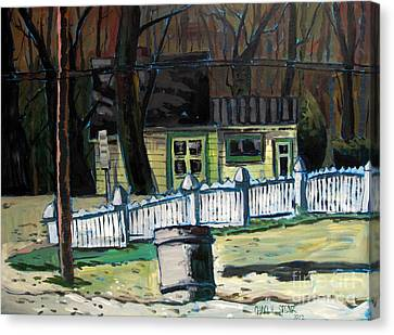 The Doug House Canvas Print by Charlie Spear