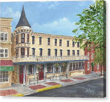 The Doylestown Inn Canvas Print