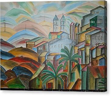 The Dream City Canvas Print